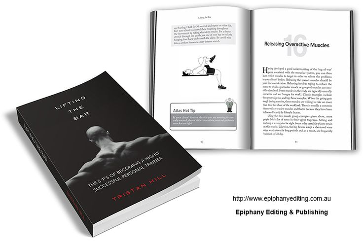 Book design for 'Lifting the Bar'. Visit http://www.epiphanyediting.com.au for more examples of book design #bookdesign #selfpublishing