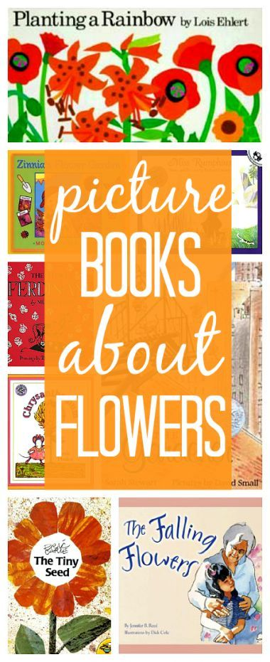11 Books About Flowers - pinned by @PediaStaff – Please Visit ht.ly/63sNtfor all our pediatric therapy pins
