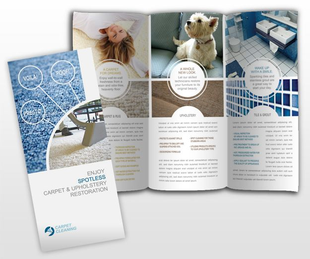 Layout Postcard, Brochure, Flyer Design Inspiration