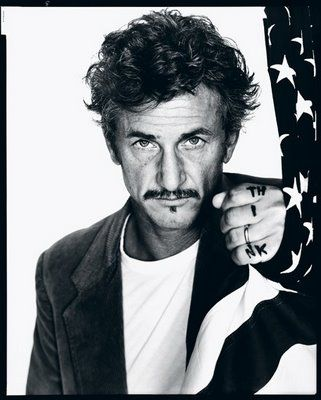 Sean Penn by Richard Avedon I like the way he has used black and white in the picture. Because he is making you look at the photo in a different way which make the view look at it in a different way.