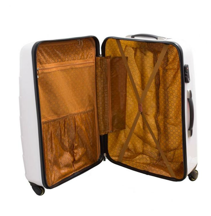 Small suitcase cabin ideal for hand luggage of durable ABS material with two wheels