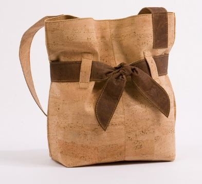 Cork Purse with Bow