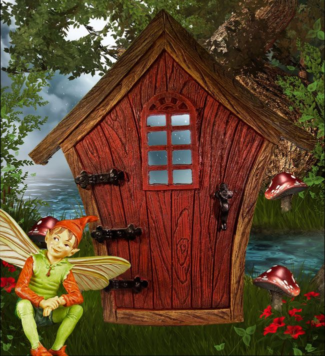 399 best images about garden gnomes fairy doors on for Outdoor fairy door