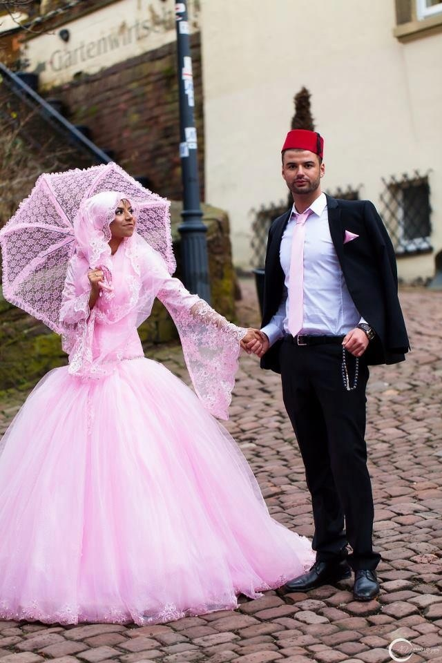 The 280 best The Hijabi Bride images on Pinterest | Bridal gowns ...
