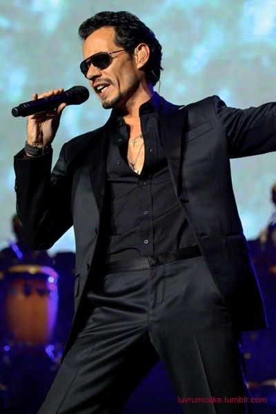 Seriously what talent! I am in love with his music..rewind and repeat. #alldat #marcanthony