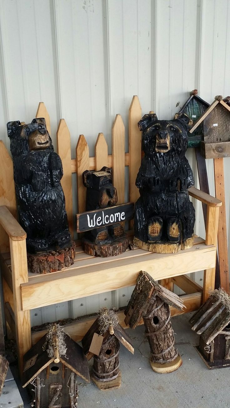 Best images about chainsaw carvings by robert walker