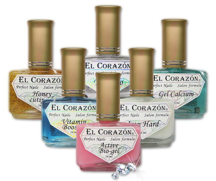 Средства для укрепления ногтей EL Corazon. Все для укрепления и роста ногтей, EL Corazon Perfect Nails