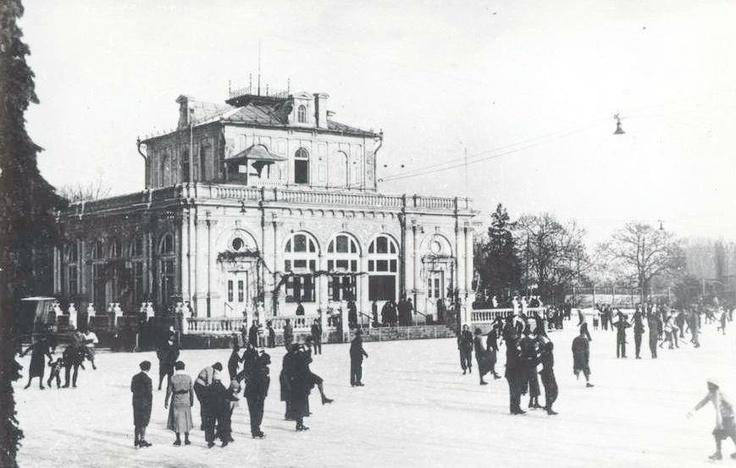 Arad - Cazinoul de langa hotel Parc - interbelica