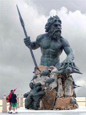 Virginia Beach Virginia: Sculpture, Beaches, Neptune Statue, King Neptune, Travel, Virginia Beach, Va Beach