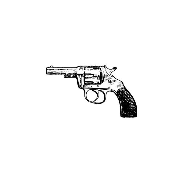 Revolver clip art ❤ liked on Polyvore featuring fillers, drawings, backgrounds, art, doodles и scribbles