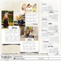 2016 Calendar One Page 1