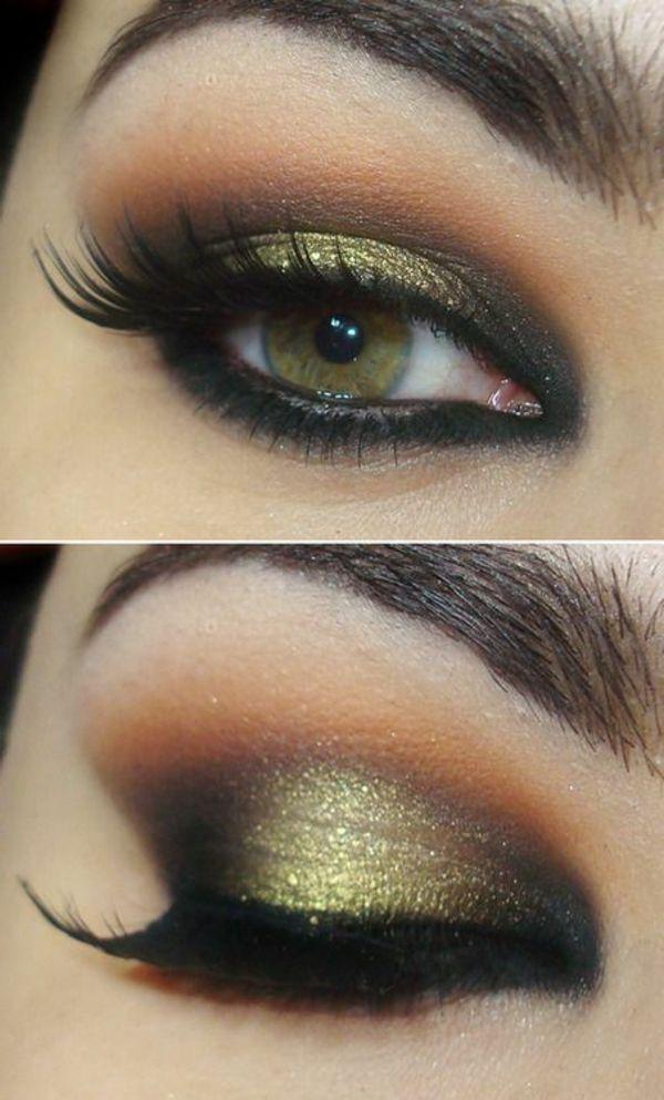 Augen Make-up für über 50 mit Kapuze Augen
