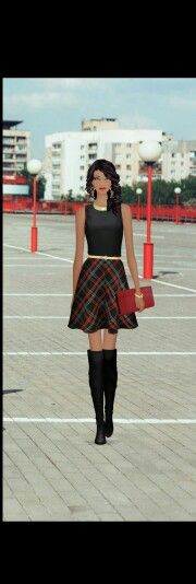 City schoolgirl