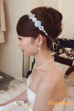 お気に入りドレスで色々スタイルチェンジの素敵花嫁さま♡♡ の画像|大人可愛いブライダルヘアメイク『tiamo』の結婚カタログ
