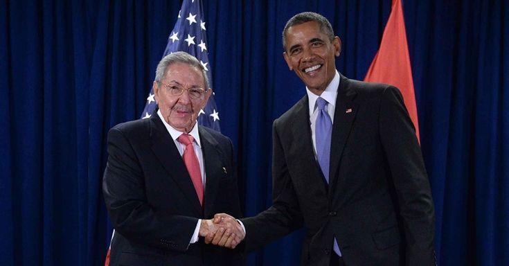 Pela primeira vez, em 88 anos, um presidente americano faz visita à Cuba.Chamou a atenção de Obama que apenas 5% dos cidadãos do país têm acesso à internet. Mas segundo Obama, isso deve mudar...