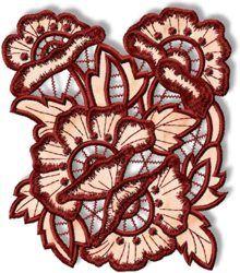 Poppy Cutwork Lace