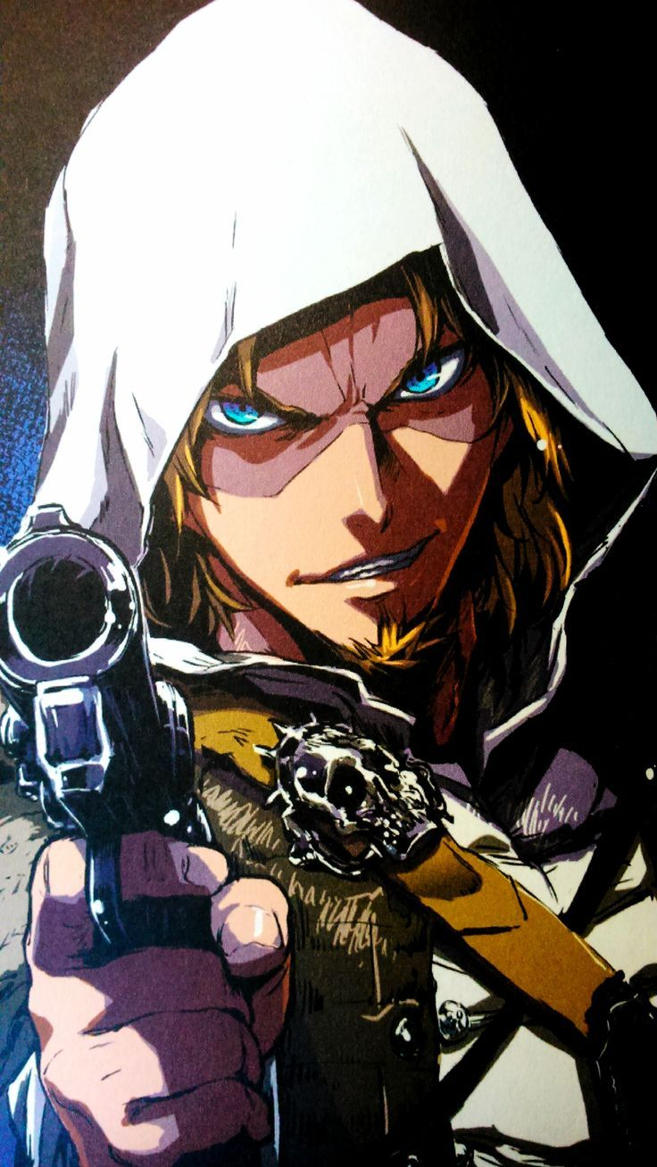 [AC4 BF] Edward Kenway for those who don't know, there was actually an Assassins creed manga for the release of Black Flag.
