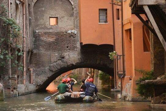 Bologna, by river:-)