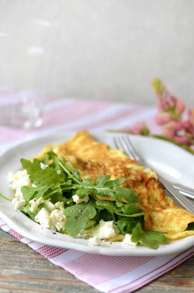 Krämig och smakrik omelett för dig som går på 5:2.