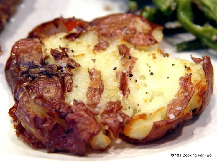 Crispy Smashed Potatoes - 101 Cooking For Two