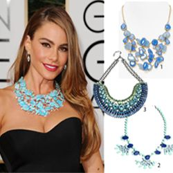 Fashion Find: Sophia Vergara's Golden Globes Necklace: http://www.realstylenetwork.com/news/fashion-and-style/2014/01/fashion-find-sophia-vergaras-golden-globes-necklace/