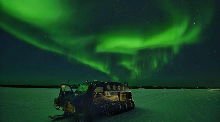 Auroras boreales desde Territorios del Noroeste, Canadá   El Universo Hoy