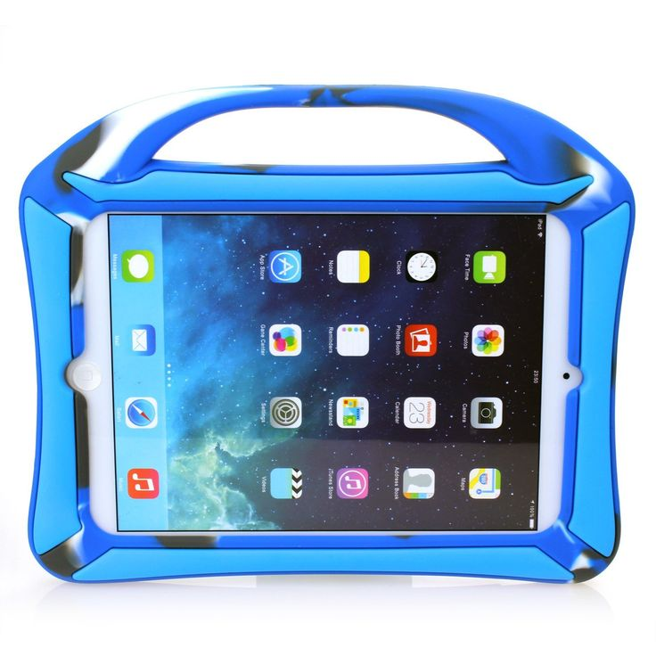 The Vakoo iPad Mini case is particularly awesome, not just because of the handle, but we absolutely love this particular style - camouflage blue. £18.99 http://childproofmytablet.com/vakoo-ipad-mini-case/ #ipadmini #ipadminicase #vakoo #shockproof #handle