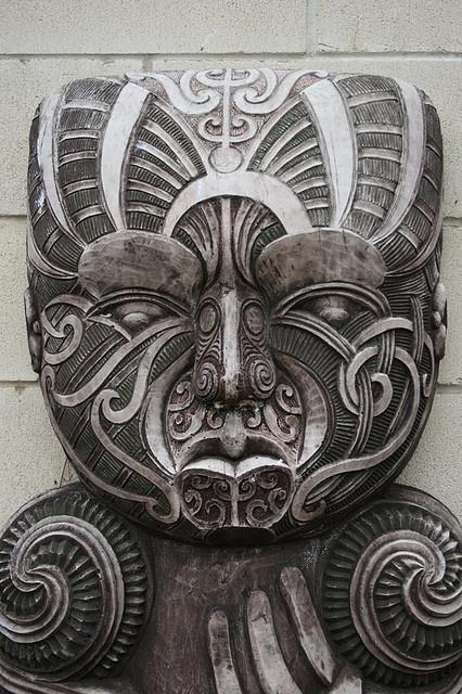 Maori Stone Carving