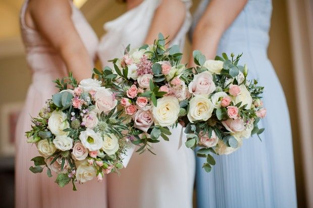 A Perfect Pastel Wedding at the Landmark Hotel | weddingsonline
