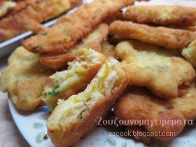Τηγανίτες με τυριά και τριμμένο κολοκυθάκι! Για πρωινό είναι υπέροχες…. για βραδινό με μπυρίτσα δεν το συζητώ!!! Πολύ ε...