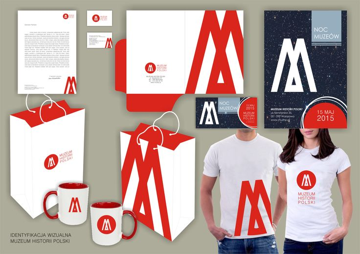 Identity design for the Museum of the History of Polish