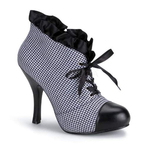 I don't know what it is about these ruffled ankle boots, but I love them