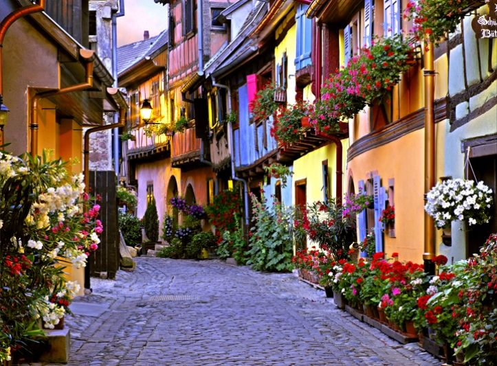 Colorful Wine Road in Alsace ~ photographer William Carr #travel #France