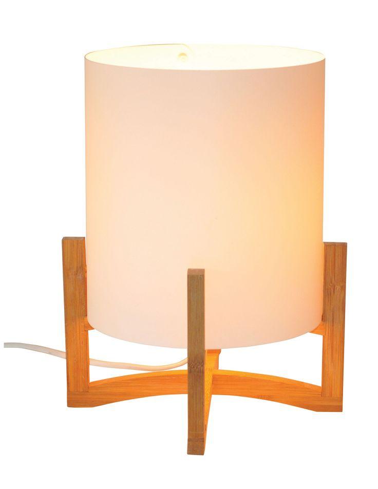 Hayden Bamboo Table Lamp | Departments | DIY at B&Q