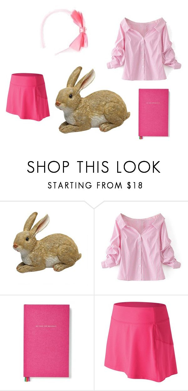 """""""lily peter rabbit  (Tiala)"""" by sapphiresand ❤ liked on Polyvore featuring WithChic, Kate Spade, Hello Kitty and New Balance"""