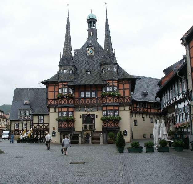 Town hall of Duderstadt, Germany 2004