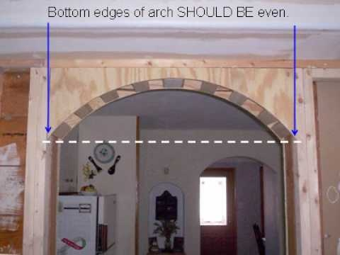 How To Build Interior Arches