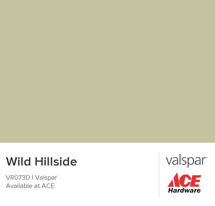 Wild Hillside from Valspar