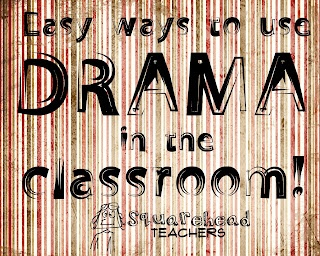 Cool process drama lessons to use in your classroom... from a drama pro!