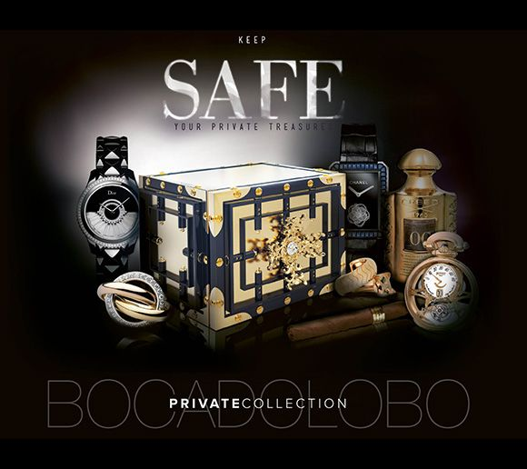 boca do lobo private collection jewelry safes