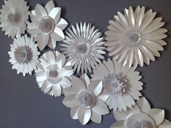 Gigante papel flor de telón de fondo, decoración de la pared, prop de fotografía