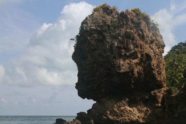 La Cabeza de Morgan es uno de los principales atractivos turísticos / Fot: Carlos Sueskún.