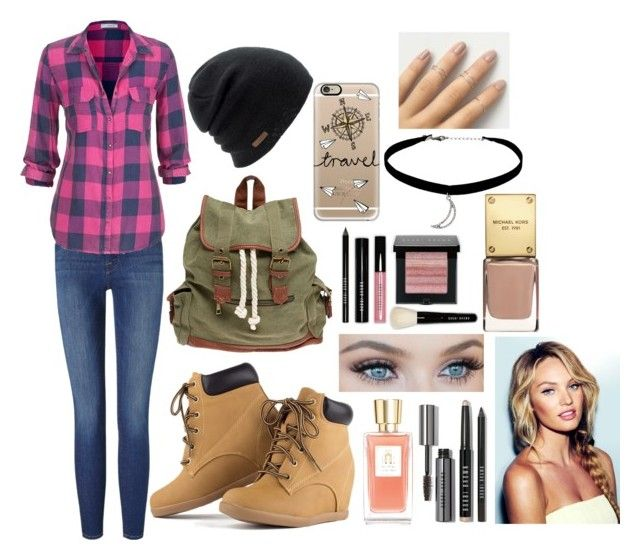 """""""Bæ"""" by shogarth on Polyvore featuring Frame Denim, maurices, Wet Seal, Bobbi Brown Cosmetics, Coal, Casetify, Topshop and Lancôme"""