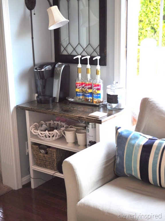 Do you need a kitchen table? Coffeebar in kitchen (kitchen design) - Cleverly Inspired
