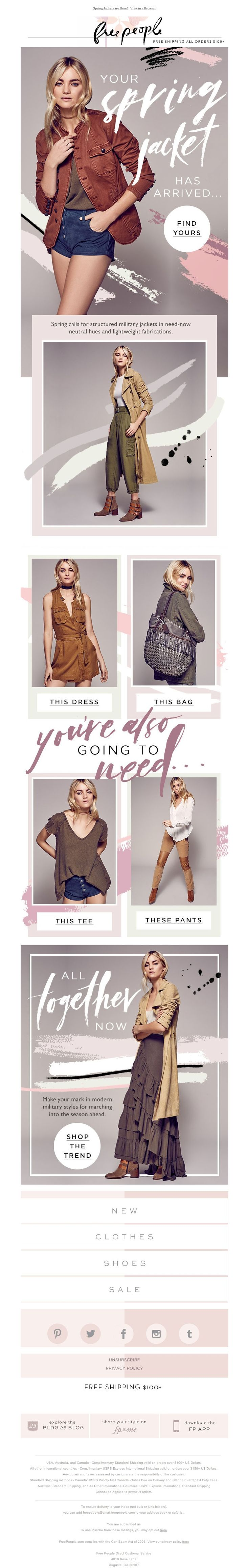 Free People - the jacket you NEED now