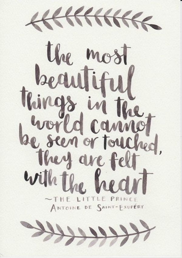 """On knowing to appreciate the small things you can't buy. 