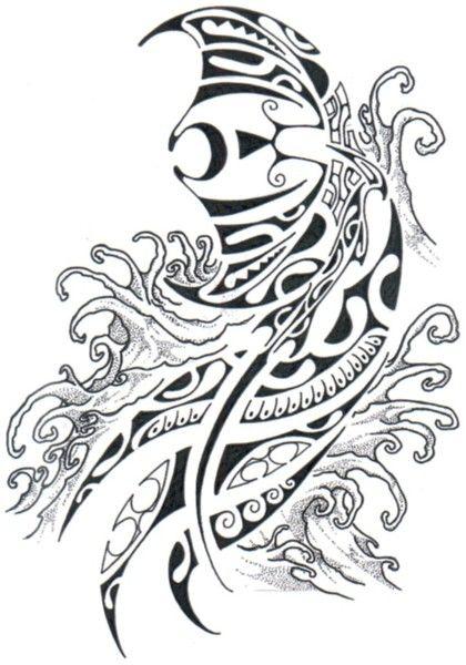 Tatouage polyn sien histoire symbolique et motifs des tatau polyn siens tattoo polynesien - Symbolique des tatouages ...