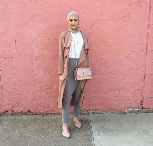 bluch waterfall cardigan hijab- leena asaad hijab- Hijab fashion magazine…
