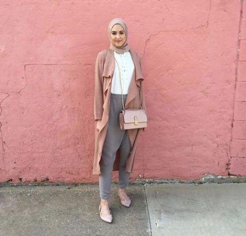 bluch waterfall cardigan hijab- leena asaad hijab- Hijab fashion magazine http://www.justtrendygirls.com/hijab-fashion-magazine/