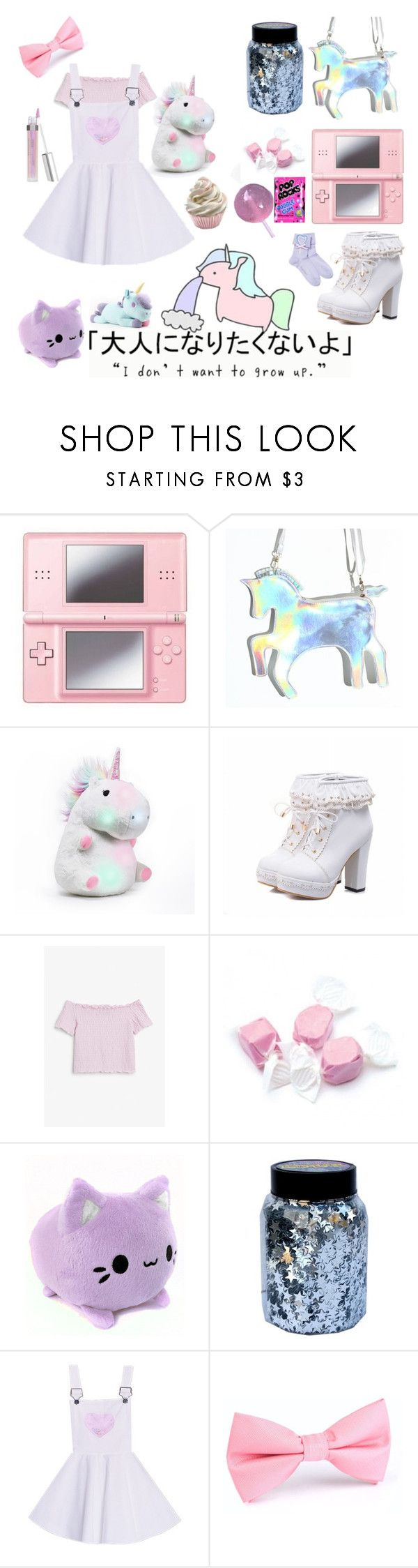 """""""Untitled #179"""" by ltdawns ❤ liked on Polyvore featuring Nintendo, Monki, Salt Water Sandals and CO"""